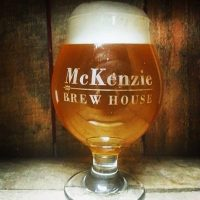 Glass of beer from McKenzie Brew House