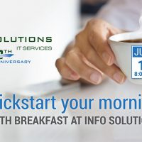 Info Solutions IT Breakfast